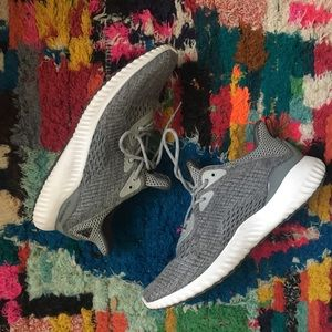 SOLD- Adidas Women's Grey Alphabounce Sneakers